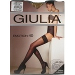 Stockings Giulia for women 40den 3-4size