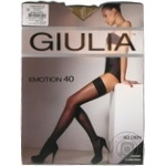 Stockings Giulia for women 40den 1-2size