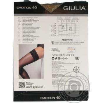 Чулки Giulia Emotion daino женские 40ден 1/2р - купить, цены на Novus - фото 4