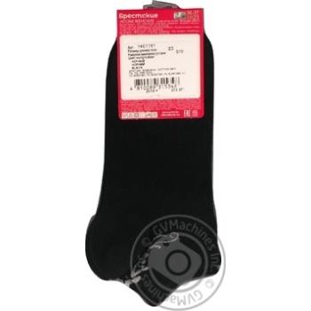 Шкарпетки жіночі Брестские Classic чорні розмір 23 - купити, ціни на МегаМаркет - фото 2