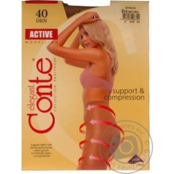 Колготы женские Conte Active 40ден р.2 Natural - купить, цены на СитиМаркет - фото 4