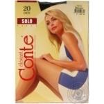 Conte 20den Solo 3 nero Tights  female - buy, prices for Novus - image 4