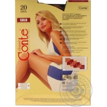 Conte 20den Solo 3 nero Tights  female - buy, prices for Novus - image 5
