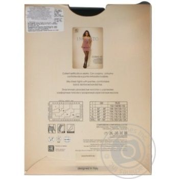 Колготки жіночі Incanto Cosmo 40 nero 5 - купить, цены на Novus - фото 6