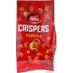 Felix Crispers in a crispy shell with paprika salt peanuts 140g