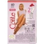 Шкарпетки жін.Conte Elegant Tension 40 nero р.23-25 2пари/уп - купити, ціни на Novus - фото 5