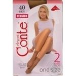 Sock Conte polyamide for women 40den 23-25
