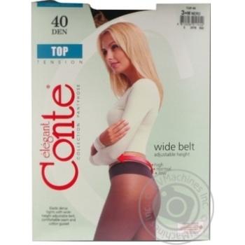 Колготы Conte Top женские 40den nero 3 размер - купить, цены на МегаМаркет - фото 5