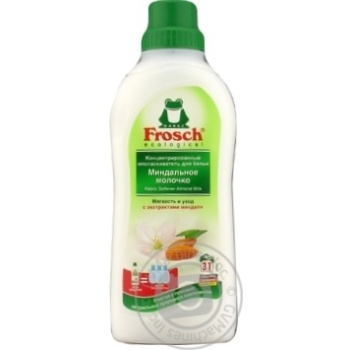 Conditioner-rinser Frosch with almond milk for washing 750ml
