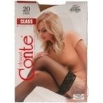 Stockings Conte natural for women 20den 1-2size