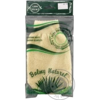 Balmy Naturel 12022 Sponge-Mitten