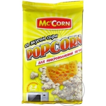 McCorn with cheese popcorn 90g