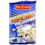 McCorn with sea salt popcorn 90g