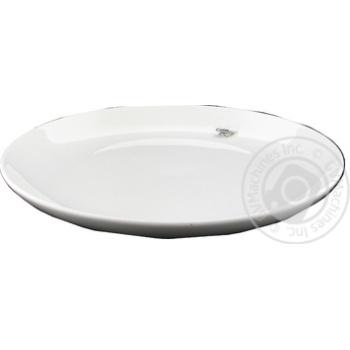 Тарелка New York обеденная керамическая 18,8см - купить, цены на МегаМаркет - фото 1