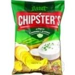 Flint Chipster's Sour Cream & Greens Potato Chips