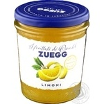 Джем Zuegg лимонный пастеризованный 330г