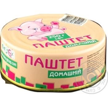 Паштет Пятачок Домашний ж/б 250г