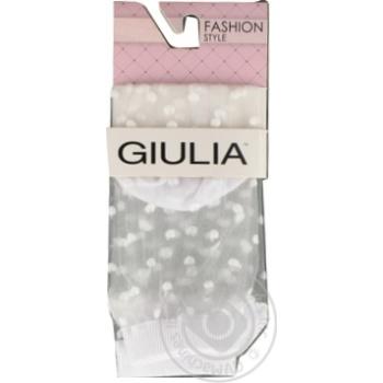 Шкарпетки жіночі WSM-004 bianco,39-40 GIULIA