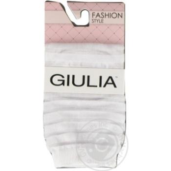 Шкарпетки жіночі GIULIA WSM-002 calzino, bianco-36-38 - купить, цены на Novus - фото 1