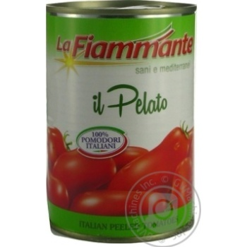 Томати La Fiammante цілі очищені 400г - купити, ціни на МегаМаркет - фото 2