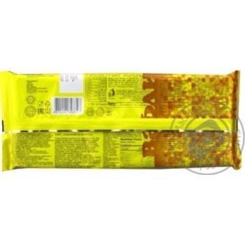 Вафлі Бісквіт-Шоколад Лимончик на фруктозі 130г - купити, ціни на МегаМаркет - фото 2