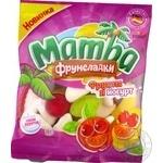 Конфеты жевательные Mamba Фрумеладки Фрукты и йогурт 72г