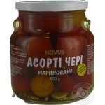 Vegetables tomato cherry tomatoes Novus Private import pickled 600g