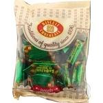 Цукерки Бісквіт-шоколад Вафельні на фруктозі з арахисом глазуровані 200г