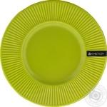 Тарелка Ambition керамическая подставная зеленая 22,5см