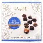 Конфеты Cachet из черного шоколада Екстра 195г