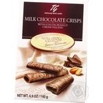 Вафельные трубочки TAGO в молочном шоколаде 140г