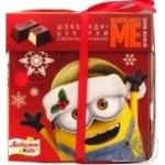 Набор подарочный Любимов Kids: шоколадные конфеты с молочной начинкой 208г