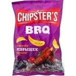 Чипсы Flint Chipster's картофельные со вкусом ребрышек барбекю 70г