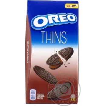 Oreo Original with cocoa and cocoa filling cookies 192g - buy, prices for Novus - image 3