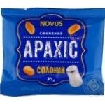 Арахіс смажений солоний Novus 35г