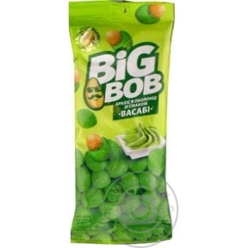 Арахис Big Bob Васаби в хрустящей оболочке 60г