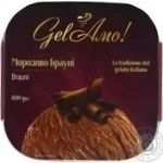 Мороженое Gel'Amo Брауни 600г