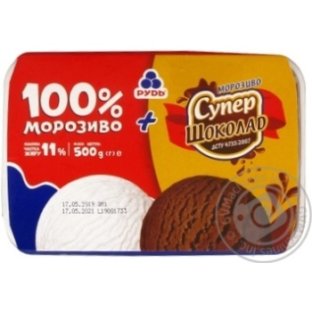 Rud With Chocolate And Plombir Ice-Cream - buy, prices for MegaMarket - image 1
