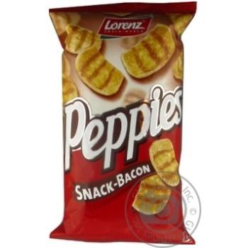 Чипсы Peppies пшеничные со вкусом бекона 75г