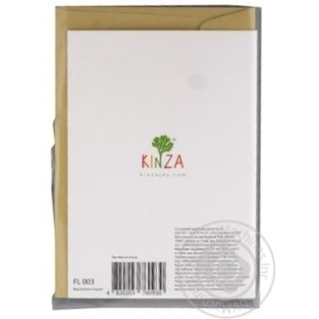 Kinza Greeting card FL003 - buy, prices for Metro - image 3