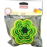 Набір форм для вирізання печива квіти 6шт., пластик Zenker