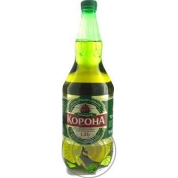 Пиво ППБ Галицкая Корона светлок 4,6% 1,2л - купить, цены на Фуршет - фото 2