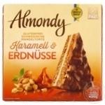 Торт Almondy миндальный с карамелью и арахисом 400г