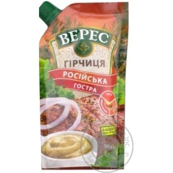 Veres Rosiysʹka hot mustard 140g