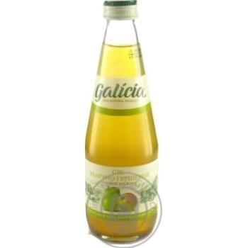 Сок Galicia яблочно-грушевый 0,3л стекло
