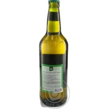 Пиво Микулинецьке Микулин Лагер живе світле непастеризоване 4.2%об. 500мл - купити, ціни на Novus - фото 2