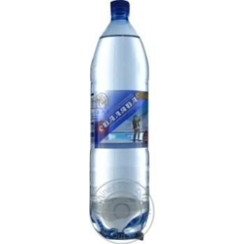 Вода Свалява сильногазированная лечебно-столовая 1,5л - купить, цены на Novus - фото 3