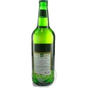 Unpasteurized Pilsner type lager Mykulynetske Mykulyn glass bottle 4.2%alc 500ml Ukraine - buy, prices for Novus - image 2