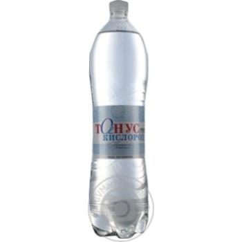 Вода Куяльник Тонус Кислород негазированная 1500мл