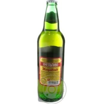 Пиво Хмельпиво Жигулівське світле 4,2% 0,5л - купити, ціни на Novus - фото 6
